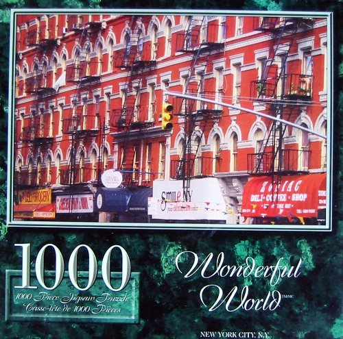 1000pc. Wonderful World Puzzle-New York City N.Y.