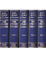 Sahîh Al-Boukhârî - Collection des 5 tomes - Bilingue français / arabe