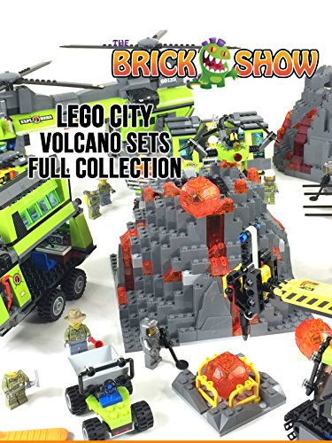 2016 LEGO City Volcano Sets Full Collection