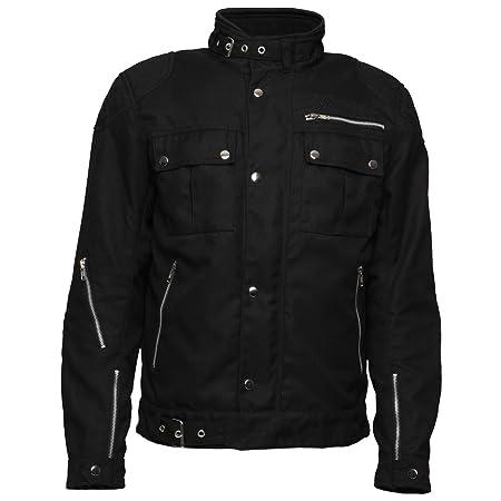 Modeka jESPER veste en tissu-noir