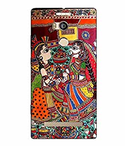 Case Cover Printed Multicolor Hard Back Cover For Gionee Elife E8