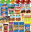Sweet & Salty Snack Foods Variety Sampler Care Pack (35 Count)
