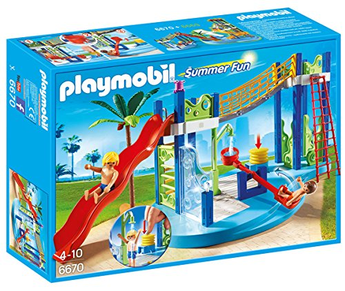 PLAYMOBIL Water Park Play Area Playset