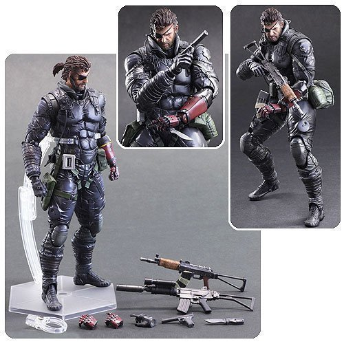 Square Enix Metal Gear Solid V: The Phantom Pain Play Arts Kai: Venom Snake Sneaking Suit Action Figure