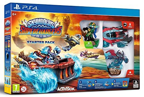Skylanders SuperChargers Starter Pack (PS4)