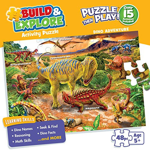 Buffalo Games Kid's Jigsaw Puzzle: Dino Adventure - 48 Pieces