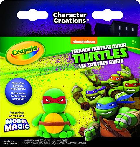 Crayola Teenage Mutant Ninja Turtles Model Magic Character Creations Art Kit (Ninja Turtle Dough compare prices)