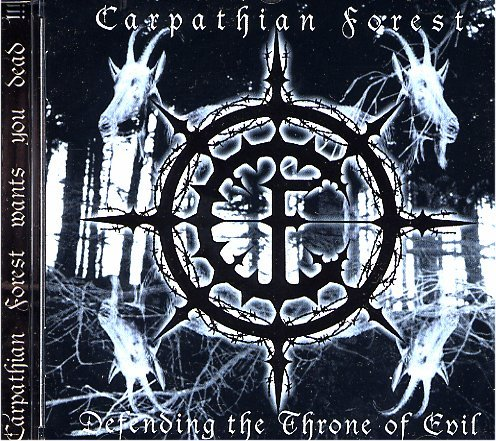 Carpathian Forest - Defending The Throne Of Evil - Zortam Music