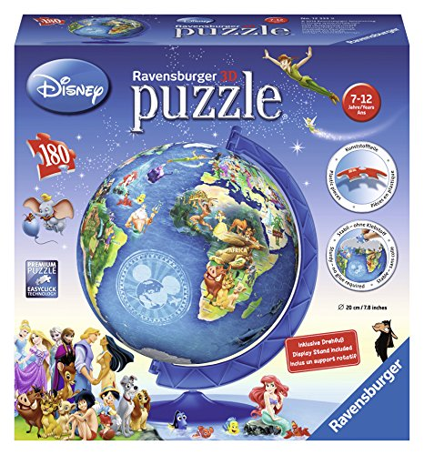 Ravensburger-Disney-Globe-3D-Puzzle-Ball-180-Piece