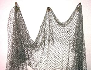 Fish net nautical fishing decor large mesh for Amazon fishing net