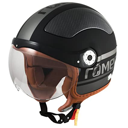 Römer 61103 Casque Moto Jet Fight, Noir/Mat, M