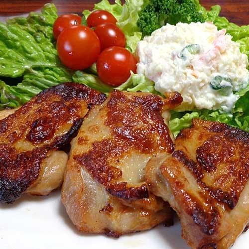 ローストチキンステーキ 簡単調理ジュシーなもも鶏肉ローストチキンステーキ80g×10枚入り800g