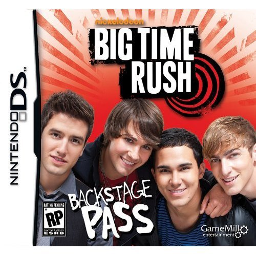 Big Time Rush: Backstage Pass - Nintendo DS - 1