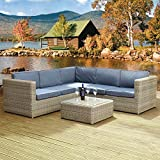 Oseasons Rattan Hampton Luxury Sofa Set
