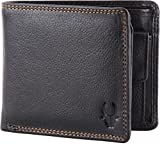 #5: WildHorn Pure Luxuries Genuine Leather Black 8 card Wallet