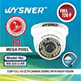 Wysner WS-DA13-NR 1.3MP Dome CCTV Camera