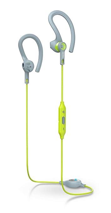 Philips ActionFit SHQ8300LF/00 Ecouteurs Sport Intra-auriculaires Bluetooth NFC Résistants à la Transpiration et à l'Humidité, 6h d'Autonomie