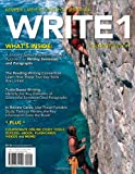 WRITE 1 (with Basic Writing CourseMate Printed Access Card) (0618642196) by Kemper, Dave