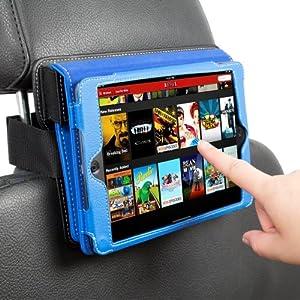 Snugg iPad Mini Car Headrest Mount Holder - Combines with Snugg iPad Mini Leather Case
