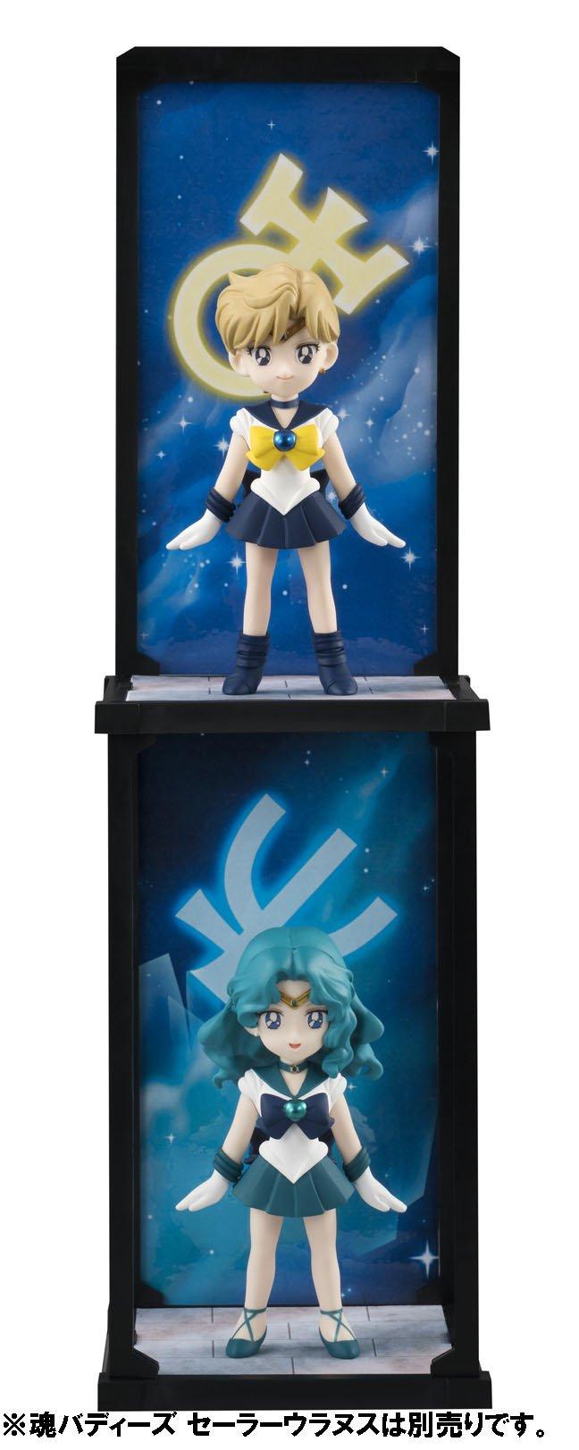 魂バディーズ 美少女戦士 セーラームーン セーラーネプチューン 約90mm PVC&ABS製 塗装済み完成品フィギュア [バンダイ]