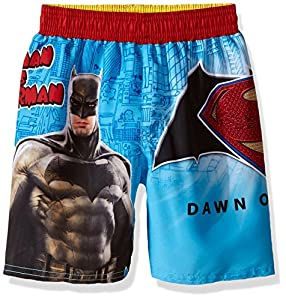 BatMan Boys' Versus Superman Swim Trunk at Gotham City Store
