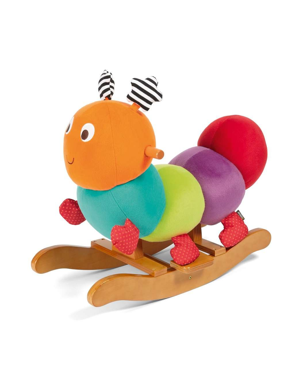 Mamas & Papas Charlie Caterpillar Baby Sit And Ride Soft Toy