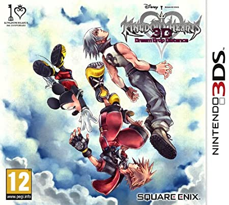 Square Enix Kingdom Hearts 3D: Dream Drop Distance