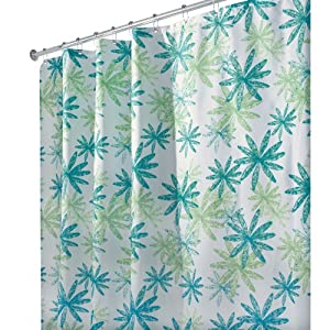 amazoncom interdesign design ada stall size shower curtain