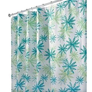 Amazon.com - InterDesign Design Ada Stall Size Shower Curtain