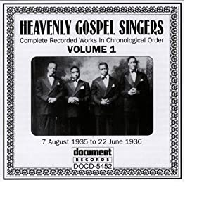 Heavenly Gospel Singers Vol. 1 (1935-1936)