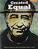 img - for Created Equal: A History of the United States, Volume 2, Black & White (4th Edition) book / textbook / text book