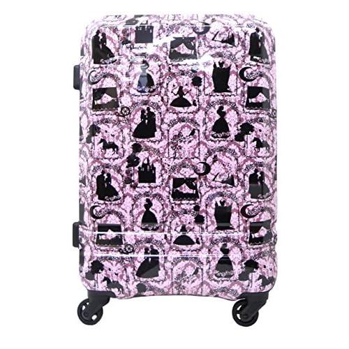 (シフレ)siffler 〔眠り姫(SLEEPING BEAUTY)〕 55cm拡張式スーツケース H0010T-55_173 眠り姫パープル HAPI+TAS(ハピタス)