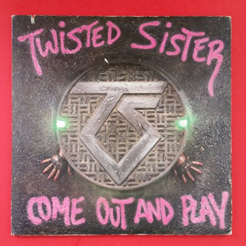 Twisted Sister Come Out Play CD Covers