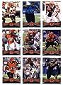2012 Topps Cincinnati Bengals Complete Team Set (Sealed) - 18 cards including Andy Dalton, A.J. Green, Green-Ellis, Still RC, Herron RC, Kirkpatrick RC, Charles RC, Sanu RC, Zeitler RC, Jones RC, Iloka RC, Thompson RC, and more!