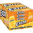 Extra Sugar Free Gum Sweet Orange, 1.428 Ounce (Pack of 10)