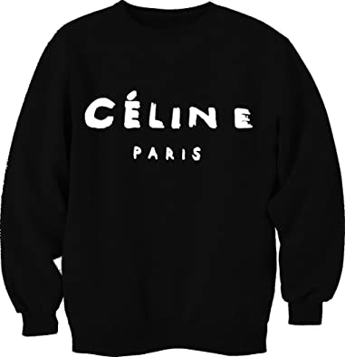 Celine Paris Cool Printed Unisex Sweatshirt Hoodie Top: Amazon.co ...