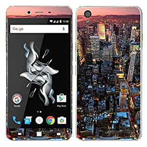 Theskinmantra Stratosphere mobile decal/skin (IT IS NOT A BACK COVER) for OnePlus X