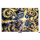 Doctor Who Exploding Tardis TV Poster- 24x36