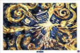 Doctor Who - TV Show Poster (Van Goghs Exploding Tardis) (Size: 36 x 24) Poster Print, 36x24