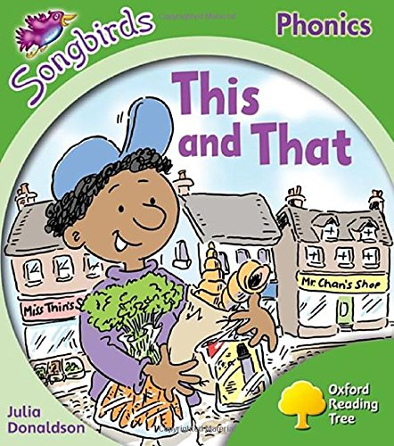 Oxford Reading Tree Songbirds Phonics: Level 2: This and That