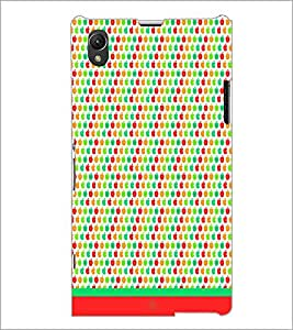 PrintDhaba Pattern D-1621 Back Case Cover for SONY XPERIA Z1 (Multi-Coloured)