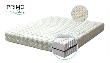 Latexmatratze Primo Line Kokos - Härtegrad M/H2 - Dunlop Technologie - 180 x 200 x 20 cm