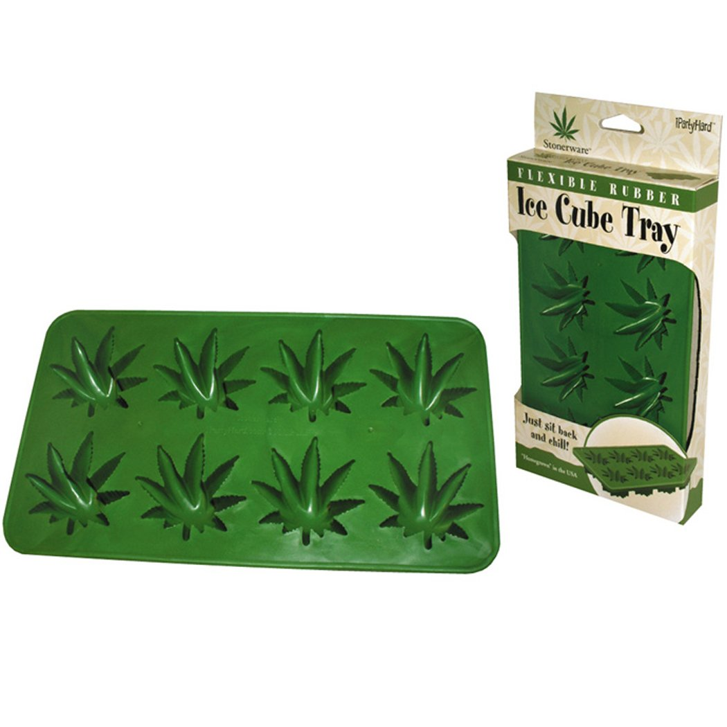 Marijuana Leaf Ice Tray