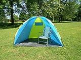 One Touch Push Up Easy Setup Beach Shelter 8 Feet Tent Better than Pop Up Easier when Fold Up, Outdoor Stuffs