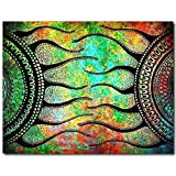 Love St - Hippie Poster | Psychedelic Trance Pattern Poster | Special Paper | Poster For Girls | Poster For Boys | Home Decal Poster | Home Decoration | Poster For Home And Office