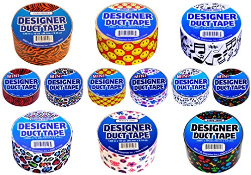 Just for Laughs Printed Designer Duct Tape 12 Pack