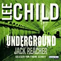 Underground (Jack Reacher) [German Edition] Audiobook by Lee Child Narrated by Frank Schaff