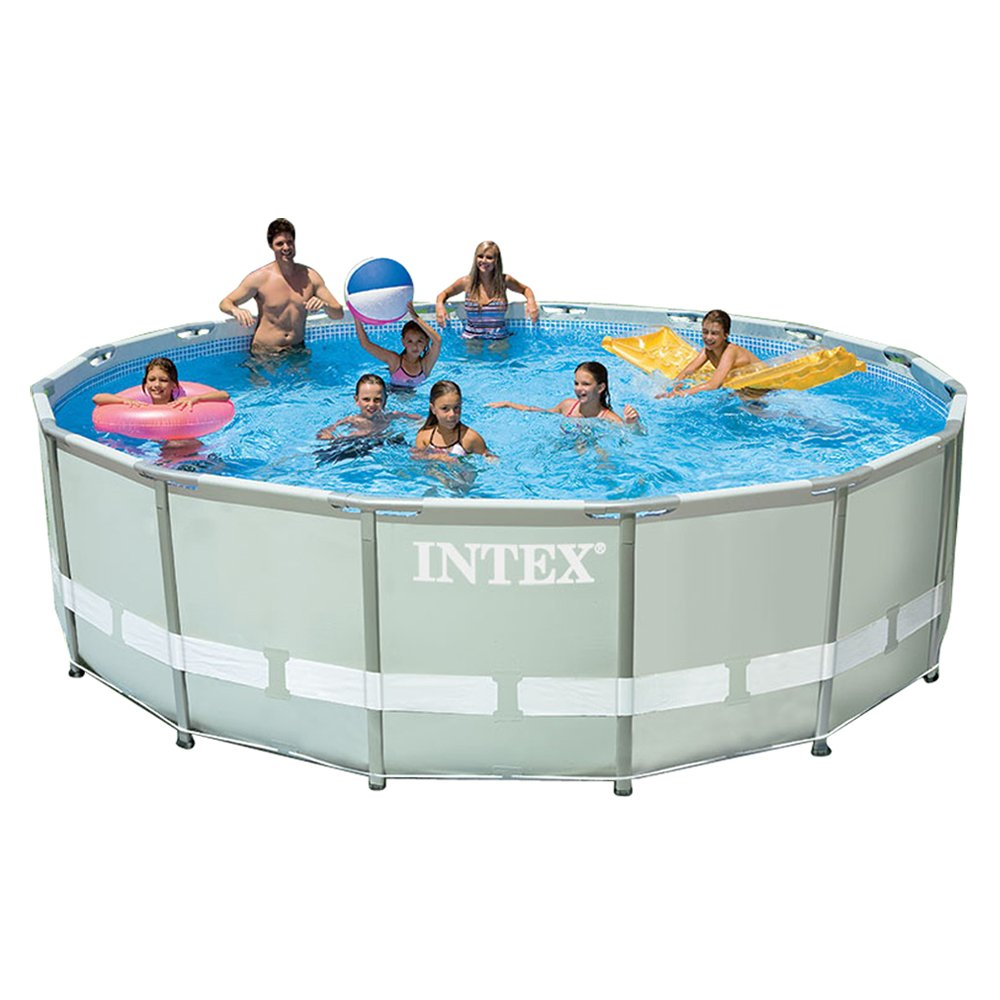 however you have the alternative of purchasing it with or without the saltwater system the set has a swimming pool ladder ground towel particles cover
