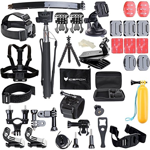 Icefox®50 in 1 Accessory Kit for GoPro Hero