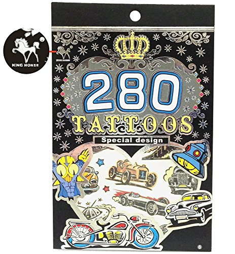 "Tapp Collectionsâ""¢ 280 Temporary Tattoos - M2 Style"